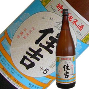 樽平酒造 純米酒 銀住吉+5 1.8L