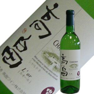 高畠ワイン たかはた ルオール・シャルドネ 720ml