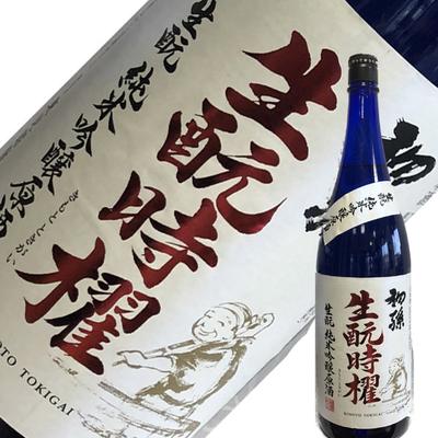東北銘醸 初孫 きもと時櫂(ときがい)純米吟醸原酒  1.8L