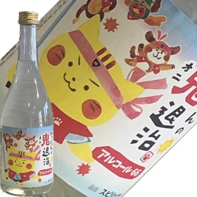 楯の川酒造 たてにゃんの鬼退治 アルコール66 720ml