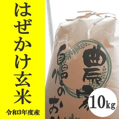 無肥料無農薬米(自然栽培米)はぜかけ米 玄米10kg