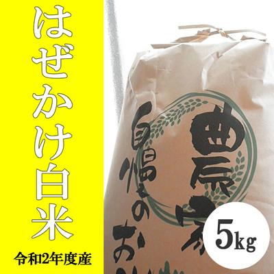 無肥料無農薬米(自然栽培米)はぜかけ米 白米5kg