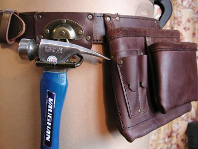 CLCアメリカの大工がこよなく愛するタフなオイルドレザー腰袋