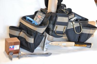 CLC コンボ・プロ サスペンダー・クッションベルト付 ブラック&アース
