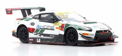 1/64 Nissan GT-R Nismo GT3 No.23 KCMG FIA GT World Cup Macau 2018   Tsugio Matsuda
