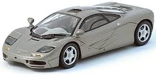 ロードカー マクラーレン F1 GTR メタリックグレイ 'WITH TAN DRIVER SEAT