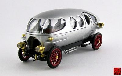 1/43 アルファロメオ リコッティ 40/60 HP 1914  メタリックグレー