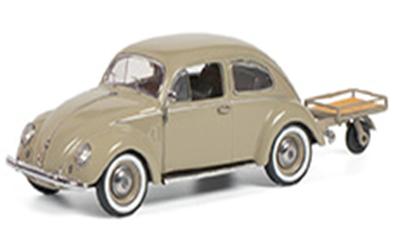 1/43VW ビートル Auto Porter         スプリットウィンドウが印象的なビートル