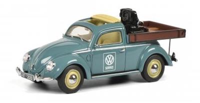 "1/43VW ビートル Beutler ピックアップ ""VW Service""      T1エンジンのってます     LIMITED EDITION 500"