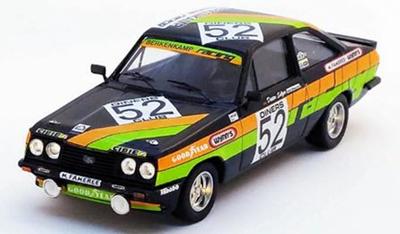 """1/43  フォード エスコート Mk2 RS2000 1979年SPA24H 1st class #52 A. Beauchef / D. Selzer / K. Mauer"""""""