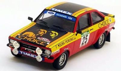 """1/43""""フォード エスコート Mk2 1978年ポルトガルラリー #25 Giovani Salvi / Zé Matrículas"""""""
