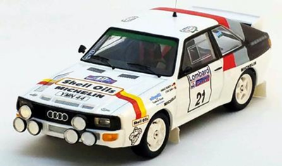 """1/43""""アウディ スポーツ クアトロ 1986年RACラリー #21 Harald Demuth / Steve Bond"""""""