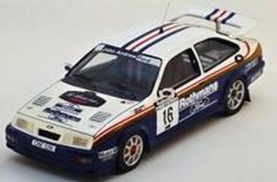 """1/43""""フォード シエラ RS Cosworth 1989年ラリー・ニュージーランド #16 S. Al-Hajri / Steve Bond"""""""