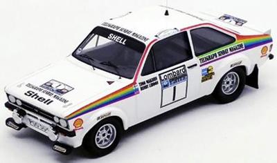 """1/43""""フォード エスコート Mk2  1976年RACラリー #1 Timo Makinen / Henry Liddon"""""""