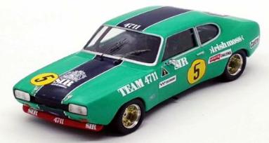 """1/43""""フォード カプリ 2600 RS 1972年Zandvoort 4H 4位 #5 Nico Chiotakis / Claude Bourgoignie"""""""