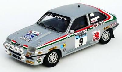 """1/43""""ボクスホール シェベット HSR 1980年RACラリー #9 Pentti Airikkala / Risto Virtanen"""""""