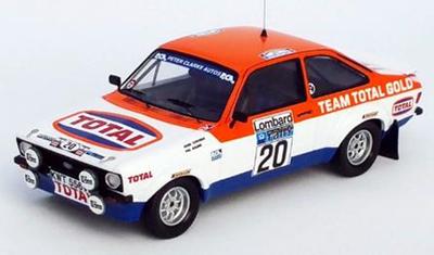 """1/43""""フォード エスコート Mk2 1979年RACラリー #20 Henri Toivonen / Phil Boland"""""""