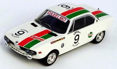 "1/43""BMW 2800 CS 1971年SPA24時間 #9Dominique Moorkens / Jean-Louis Haxhe """
