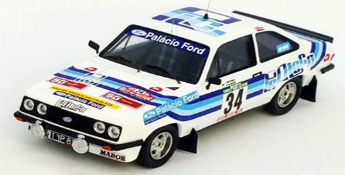 """1/43""""フォード エスコート Mk2 RS2000 1980年ラリー・ポルトガル #34 Joaquim Moutinho / Miguel Sottomayor"""""""