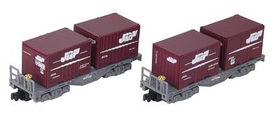 Bトレインショーティー コキ100系 コンテナ貨車 コキ107形