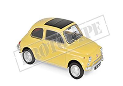 1/18フィアット 500 L 1968  イエロー             世界中で愛されているチンクエチェント