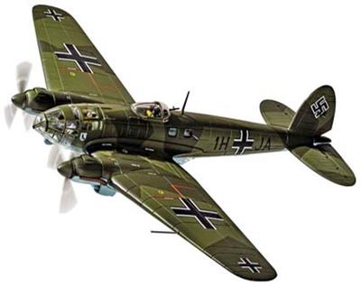 1/72 ハインケル He111 H-2 1H+JA Stab./KG26 1939.10.28  The Humbie Heinkel'