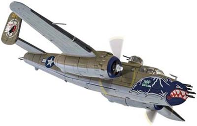 1/72ノースアメリカン B-25J ミッチェル 'Betty's Dream' 499th BS  345th BG 家島 沖縄 1945