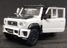 """1/64""""スズキ ジムニー (JB74) ホワイト LB Version  RHD"""""""