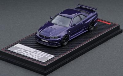 1/64  Nismo R34 GT-R Z-tune Purple Metallic