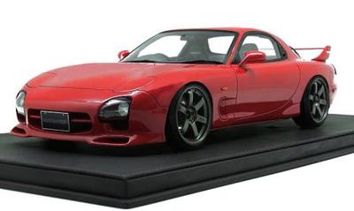 1/12  Mazda RX-7 (FD3S) Mazda Speed Aspec Red   ★生産予定数:100pcs