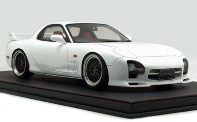 1/12  Mazda RX-7 (FD3S) Mazda Speed Aspec White   ★生産予定数:100pcs