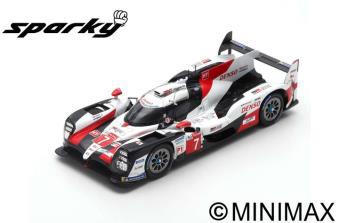 """1/64""""TOYOTA TS050 HYBRID No.7 TOYOTA   2nd 24H Le Mans 2019   M. Conway - K. Kobayashi"""