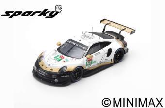 """1/64""""Porsche 911 RSR No.91 Porsche GT Team  2nd LMGTE Pro class 24H Le Mans 2019   R. Lietz - G. Br"""