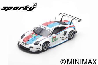 """1/64""""Porsche 911 RSR No.93 Porsche GT Team  3rd LMGTE Pro class 24H Le Mans 2019   P. Pilet - E. Ba"""