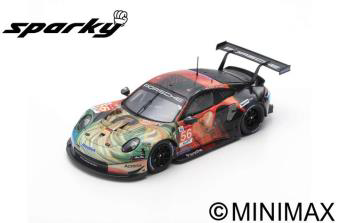 "1/64	""Porsche 911 RSR No.56 Team Project 1  Winner LMGTE Am class 24H Le Mans 2019  J. Bergmeister -"