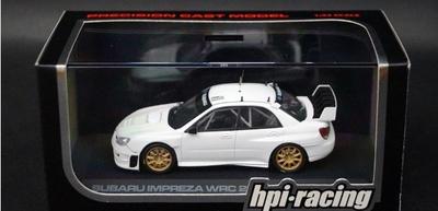 1/43  スバル インプレッサ WRC 2006  PLAIN COLOR MODEL ホワイト