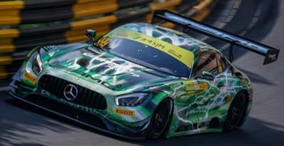 1/64  Mercedes-AMG GT3 No.999 Mercedes-AMG Team GruppeM Racing  Winner FIA GT World Cup Macau 2019