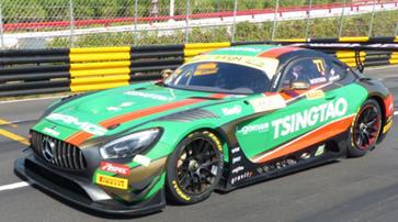 1/64  Mercedes-AMG GT3 No.77 Mercedes-AMG Team Craft-Bamboo Racing 6th FIA GT World Cup Macau 2019