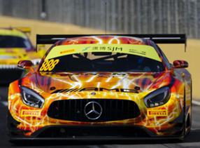 1/64  Mercedes-AMG GT3 No.888 Mercedes-AMG Team GruppeM Racing 9th FIA GT World Cup Macau 2019 Maro