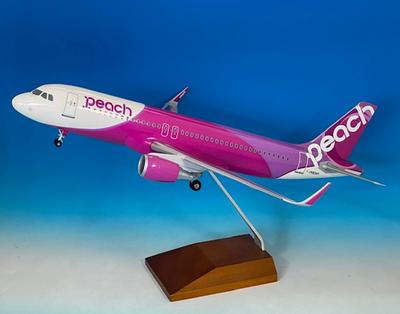 1/100   A320-200  JA824P [24号機]  Peach Aviation  デスクトップモデル