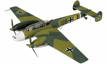 1/72 Bf 110 Model, Luftwaffe, ZG 26, Battle of Britain - Corgi AA38505      Bf 110 Model, Luftw