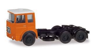 1/87 ローマン ディーゼル 6×2リジッドトラクター オレンジ/ホワイト