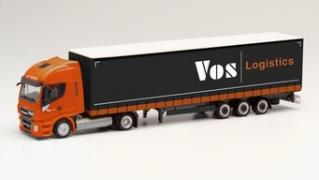 """1/87 イベコ ストラリスNP低床セミトレーラー """"VOS Logistics"""""""