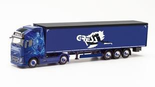 """1/87 ボルボ FH Gl. XL moving floor""""Helmut Gress Transporte"""""""