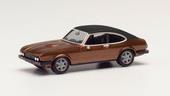 1/87 フォード カプリIIソフトトップ ブラウンメタリック