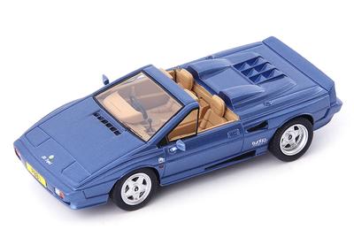 """1/43""""ロータス エスプリ PBB St. Tropez コンバーチブル 1990 ブルー""""          333個限定生産"""
