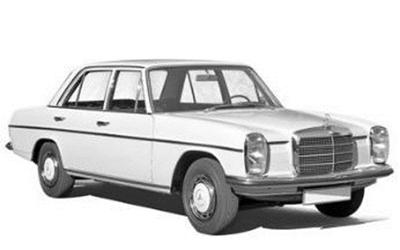 1/18 メルセデス・ベンツ 200 1968  ホワイト            ドア開閉=6箇所