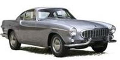 1/43  ボルボ P1800 1963   メタリックグレー