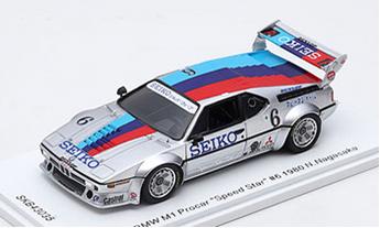 "1/43 BMW M1 Procar ""Speed Star"" #6 1980"