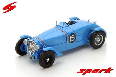 1/43  Delahaye 135 S No.15 Winner 24H Le Mans 1938 E. Chaboud - J. Trémoulet